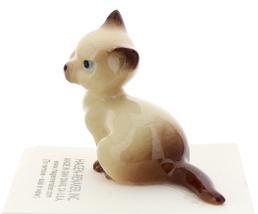 Hagen-Renaker Miniature Cat Figurine Siamese Mama and Papa Chocolate Point image 8