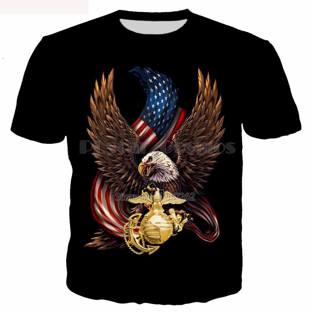 82fc2aad7928 The head of an eagle Tee Men Women 3d Printed animal T-shirt street