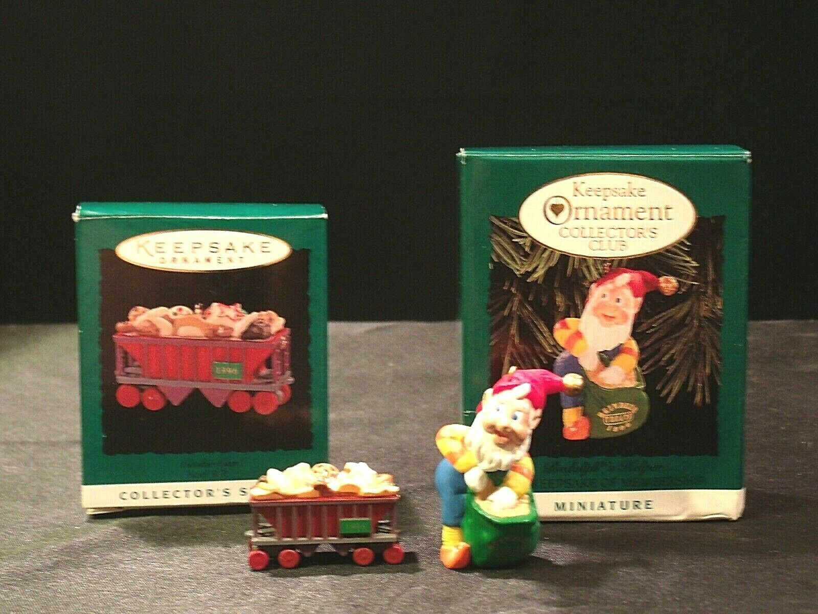 Hallmark Handcrafted Ornaments AA-191774B Collectible ( 2 pieces )