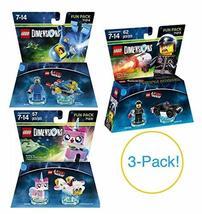 Koolstuff Exclusives Lego Dimensions The Lego Movie 3-Pack Variety Bundl... - $34.99