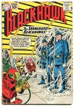 BLACKHAWK #160 1961-DC COMICS-FROZEN ALIVE SCI FI ISSUE G/VG - $14.55