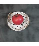 "Vintage 7"" Doubled Handled Lattice Pie Plate - $13.09"