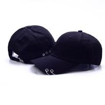 Live Wings Tour Unisex Black Cap with Iron Ring Pop Fashion Baseball Cap... - $9.45