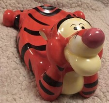 Disney Pooh and Friends Tigger Hand Painted Soap Dish Kids bathroom decor - $23.00