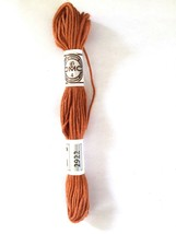 Needlepoint Yarn DMC  No 4 Matte Cotton #2922 Single Ply 10 M Skein 11 Y... - $1.95
