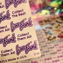 80s Vintage Lisa Frank Complete Sticker Sheet  S158  Gumball Machine POP! image 2