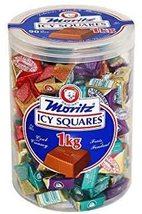 Moritz Icy Squares Chocolates 2 x 1kg boxes Canada - $79.99