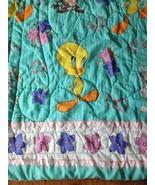 Vintage Baby Dreams Comforter Blanket Quilt Bunnies Balloons Bears Bibb ... - $39.99