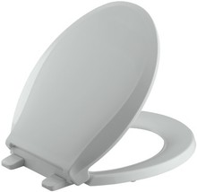 KOHLER K-4639-95 Cachet Quiet-Close with Grip-Tight Bumpers Round-front Toilet S - $52.52