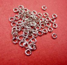 200pc 3mm nickel look jump ring-951 - $1.00