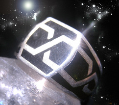 HAUNTED ANTIQUE RING ANCIENTS CHAIN OF LIGHT CONNECT TO HIGHER GIFTS OOAK MAGICK - $9,339.77