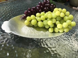 Vintage Aluminum Oval Tray by Everlast Hand Forged - $15.84