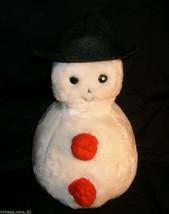 VINTAGE CHRISTMAS STUFFED ANIMAL PLUSH EDEN TOYS SNOWMAN SNOW MAN OLD RA... - $33.75
