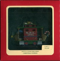 1991 Carlton Cards Heirloom Collection Ornament - Christmas Express - 11... - $5.93