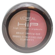 LOreal HiP High Intensity Pigments Bright Shadow Duo, Adventurous 114 by... - $7.43