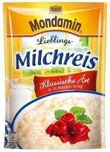 Mondamin Milchreis Price pudding Classic Vanilla -FREE SHIPPING - $8.90