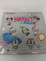 Disney Nerds Rock Booster Pin Pack 7 Pins - $17.81