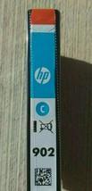 902 HP cyan blue ink OfficeJet 6954 6958 6962 Pro 6954 6968 6975 6978 pr... - $19.75