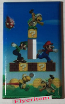 Super Mario Run Light Switch Power Duplex Outlet wall Plate Cover Home Decor image 1