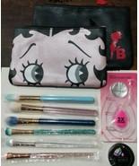(6) Slmissglam Makeup Brushes With Beautyblender, Beautycleanser, & Make... - $34.64