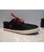 $65.00 Polo Ralph Lauren Men's Vaughn Dotted Mesh Sneakers, Black, Orig:... - $32.32