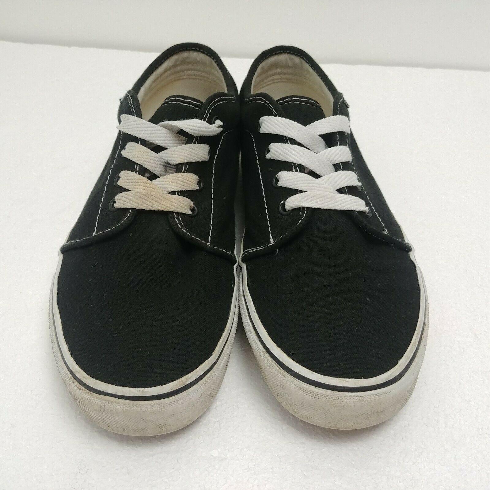 Vans Herren Atwood Canvas Total Sneakers, Schwarz (Black), 40.5 EU