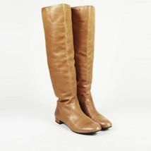 Prada Leather Knee High Riding Boots SZ 38.5 - $260.00