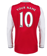 Long Sleeve Arsenal Home CUSTOMISE NAME NUMBER ... - $29.99
