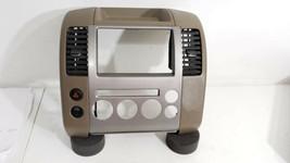 2005-2007 Nissan Pathfinder Dash Radio Bezel  68260 EA410 - $289.99