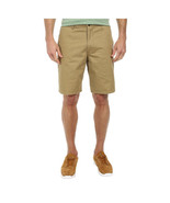 NEW DOCKERS PACIFIC STRAIGHT FIT FLAT FRONT BEIGE COTTON CHINOS KHAKIS SHORTS 42 - $24.99