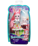 New Enchantimals Bree Bunny Doll & Twist - $12.82