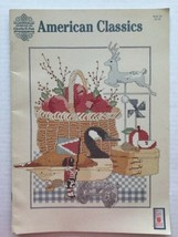 American Classics Cross Stitch Patterns Designs By Gloria & Pat 1988 - $3.94