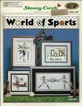World of Sports Bk 144 Stoney Creek Collection for Counted Cross Stitch - $5.93
