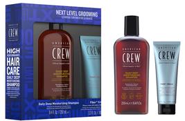 American Crew Next Level Grooming Fiber Cream Kit