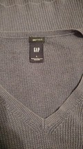 Women's blue gap sweater large ras244 - $15.84