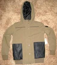 NEW Vans WOMENS STANDPOINT Jacket GREEN BLACK L LG PARKA COAT JACKET $12... - $65.08