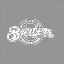 Milwaukee Brewers MLB Team Logo 1 Color Vinyl Decal Sticker Car Window Wall - $3.95+