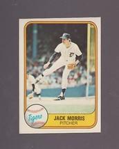 1981 Fleer # 475 Jack Morris Hall of Fame!!! Excellent to MINT!!!!  - $1.29