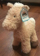 Jellycat Caffuffle Brown Palomino Pony Horse Soft Toy Comforter Plush 12... - $21.00