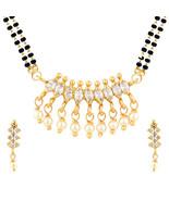 Efulgenz Cubic Zirconia Necklace Set for women - $25.00