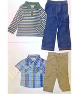 Fisher-Price Infant Toddler Boys 2pc Shirts & P... - $7.99