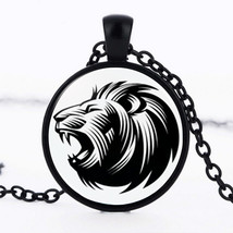 Lion That Roars Cabochon Necklace >> Combin Shipping << (7291) - $4.70