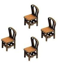 28mm Furniture: Light Wood Bentwood Back Chair