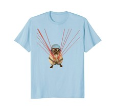 Hamster Using a Parachute - Cute and Funny T-Shirt - $17.99+