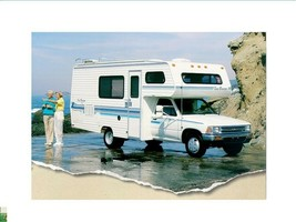 Seabreeze Motorhome Operations Manuals For Toyota Rv Furnace Ac & Appliance Info - $24.99