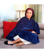 MagicWrap - Waffle Fleece Navy Wrap Poncho Cape Blanket for Love and Support - $37.95