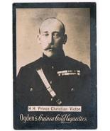 Vintage Ogden's Guinea Gold Cigarettes H.H. Prince Christian Victor Toba... - $9.99