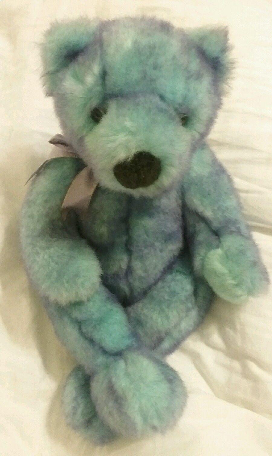 Classic Ty Bluebeary Bear Beanie 16