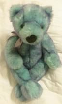 "Classic Ty Bluebeary Bear Beanie 16"" Plush Retired 1999 - $19.75"