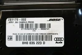 Audi A4 Amplifier 8H0035223D Amp Stereo Receiver Audio image 4